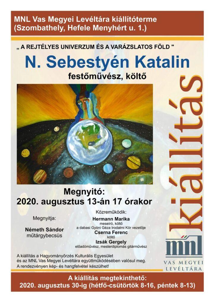 Festmény kiállítás plakát